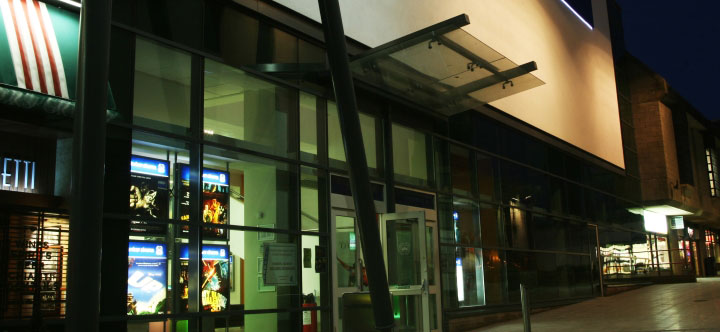 The new 'White River Cinema' with four screens opens to the public of St Austell,