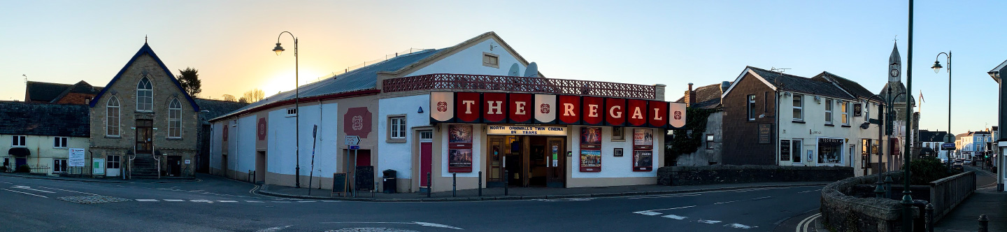 Welcome to The Regal Cinema, Wadebridge