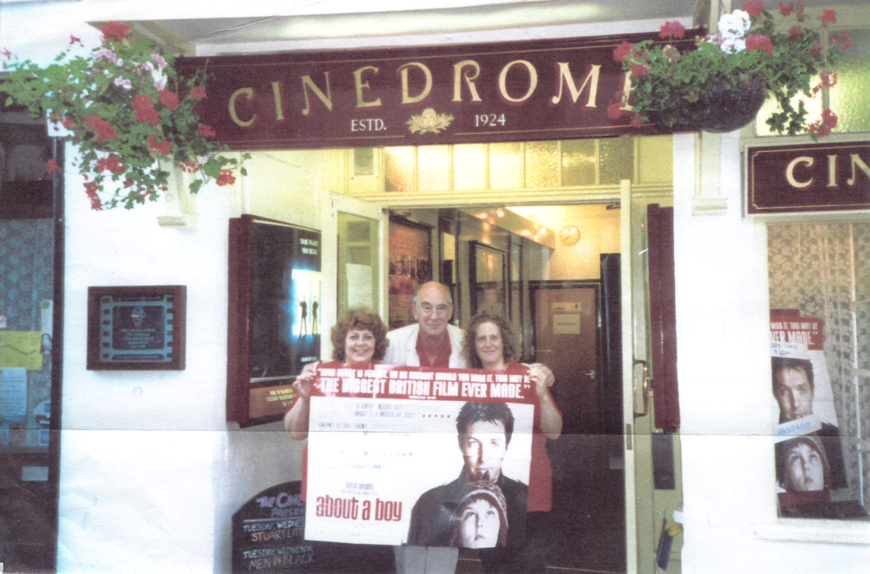 The Padstow cinema is remodelled and relaunched as 'The Cinedrome'.