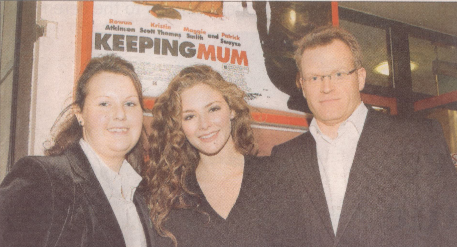 """UK Premiere of """"Keeping Mum"""" held at The Plaza at Truro"""